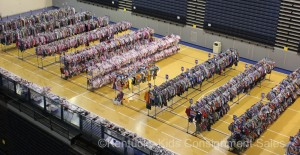 Thousands of clothing items at a Kentucky Kids Consignment Sale
